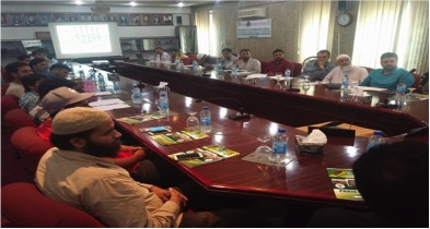 Meeting at Sialkot with Pakistan Gloves Manufactures and Exporters Association