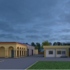 Proposed 3D View of Building
